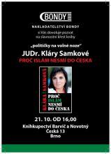 pozvánka na křest knihy v Brně